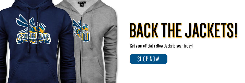 Back the Jackets! Get your official Yellow Jackets gear today!