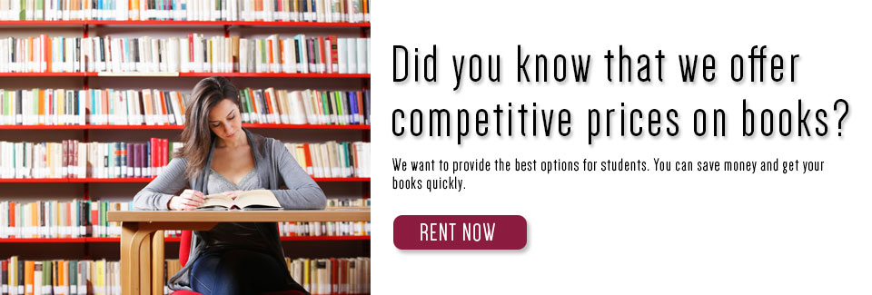 Rent your textbooks!