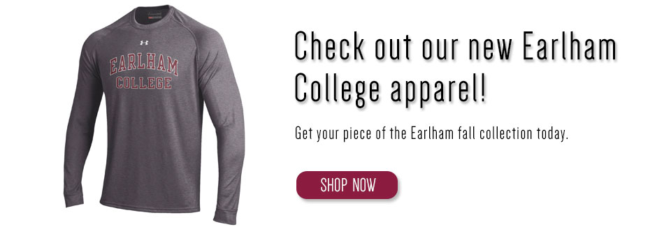 Get your Earlham College apparel!