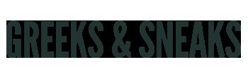 Greeks & Sneaks Logo