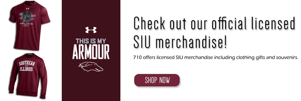 Shop for our licensed SIU merchandise!