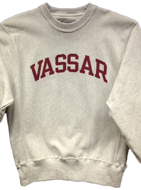Image for the Champion Crew Reverse Weave Vassar College Sweatshirt product