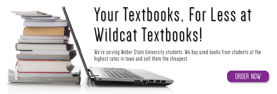 Your textbooks, for less at Wildcat Textbooks!