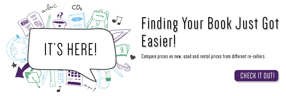A new way to compare, shop and buy textbooks!