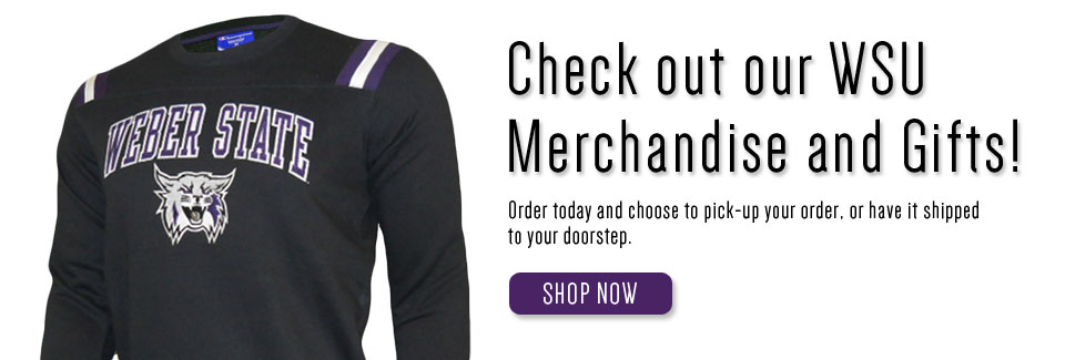 Get your Weber State apparel!